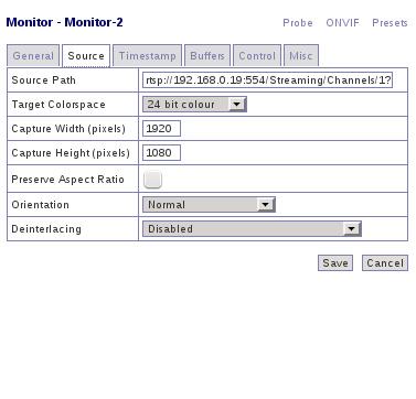 ONVIF Probing for ZoneMinder | Tech Tids & Bits